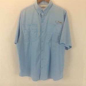 Columbia Sportswear Button Down Short Sleeve Shirt
